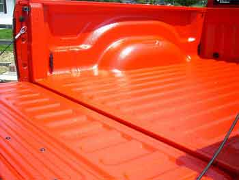 Benefits of Painting the truck with bed liner
