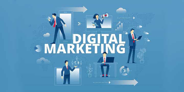 difference between digital marketing and social media agency
