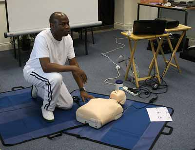 How long is CPR and first aid training well for