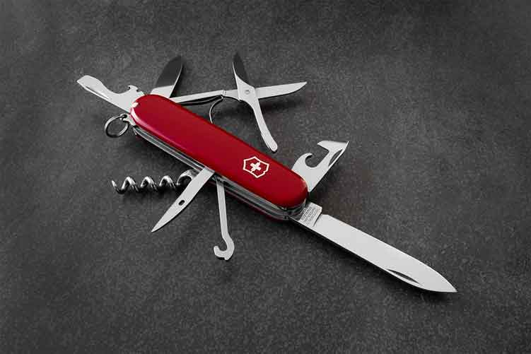 How to Clean a Stubborn Swiss Army Knife