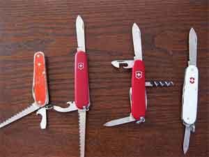 genuine Swiss Army knife