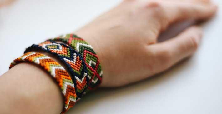Beaded Viking Knit Bracelet Tutorial
