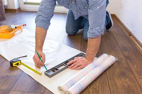 Here Are Some Easy Steps On How To Measure And Install Wallpaper
